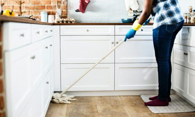 Az időcsinálás angyala, a takarítónő