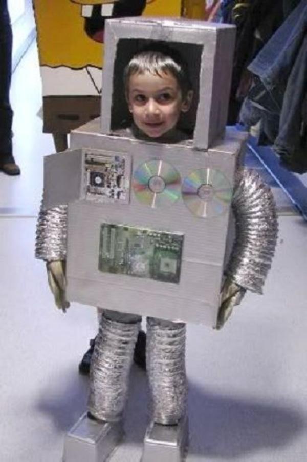 Farsang, Robot