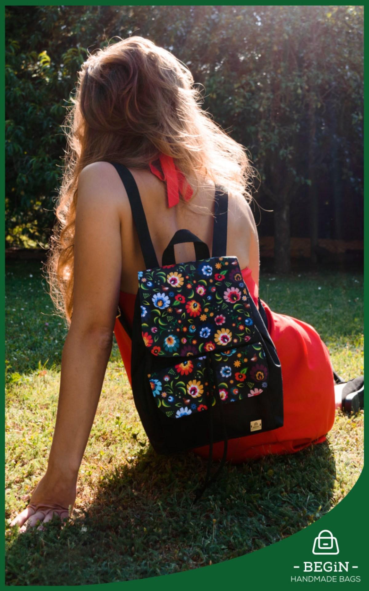 Begin, Handmade Bag, Kézzel készült táska