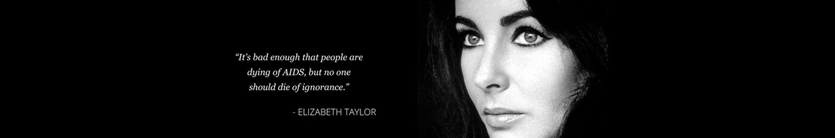 Elizabeth Taylor, AIDS, idézet