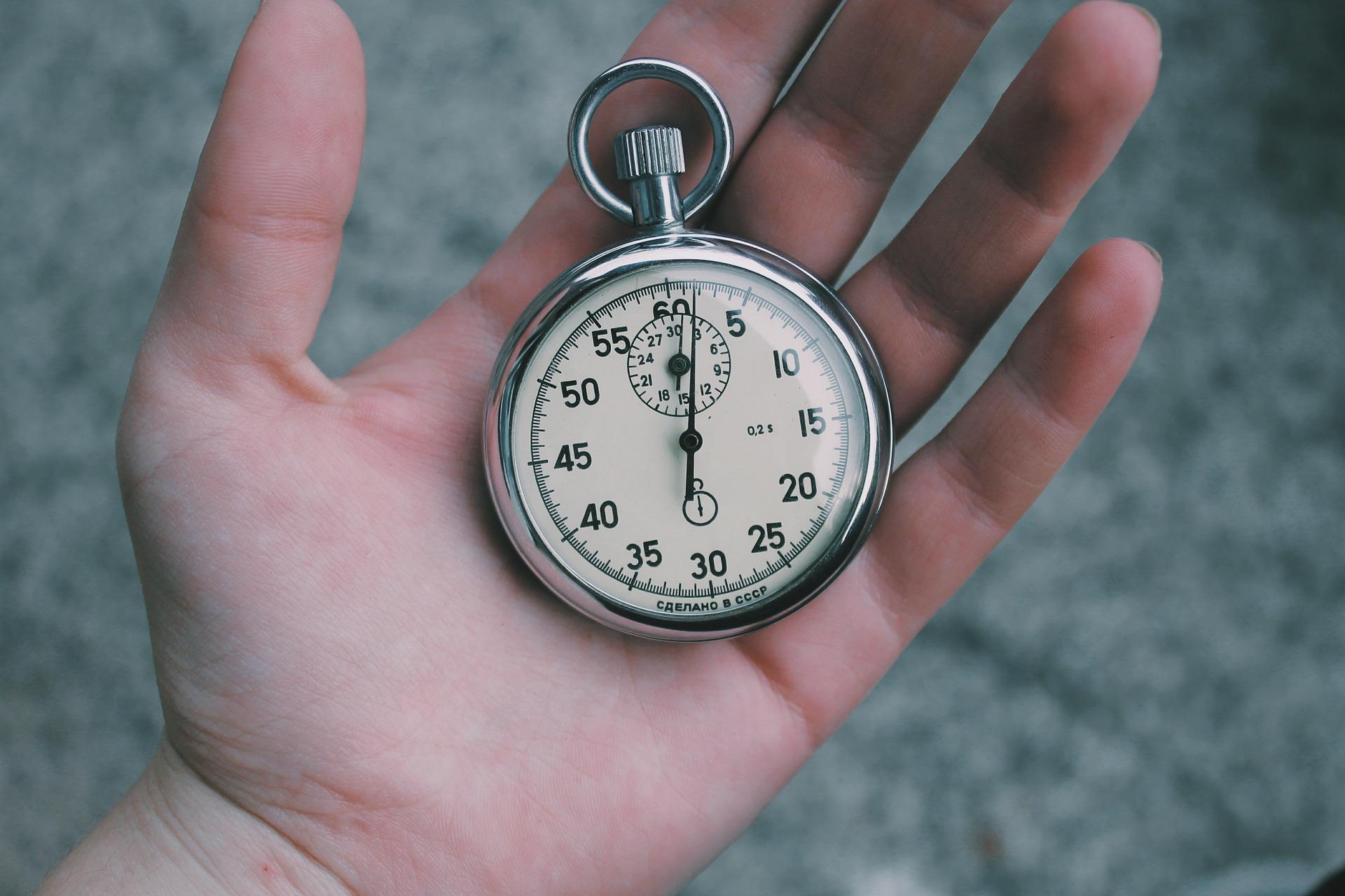 Idő, óra, 5 perc