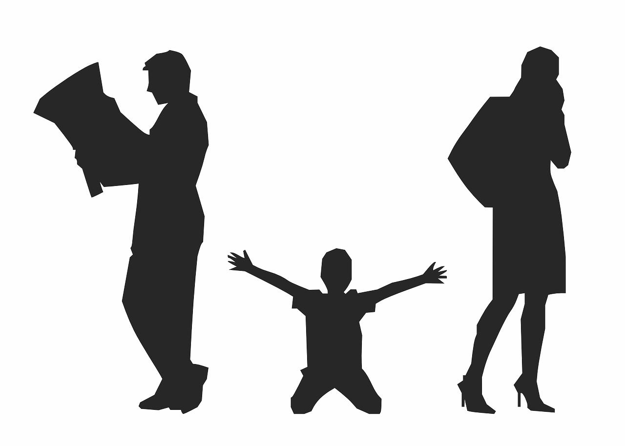 Válás, Kettészakadás
