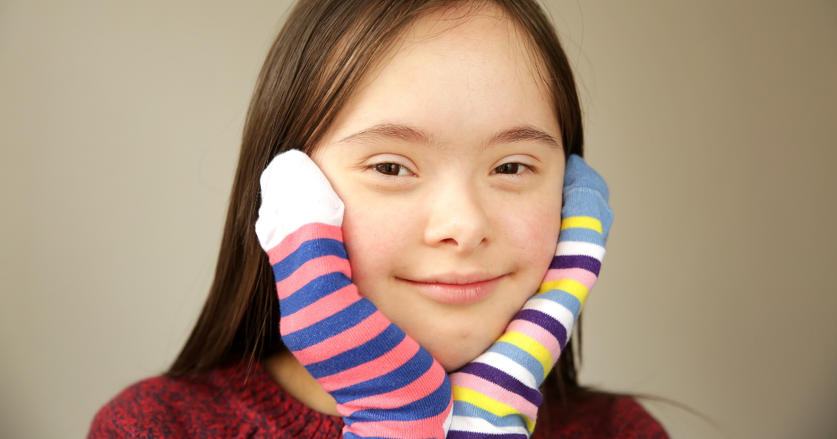 Van, akinél a zokni fele más, ezért a zokni felemás  <br><p class='alcim'> - március 21. a Down-szindróma világnapja </p>