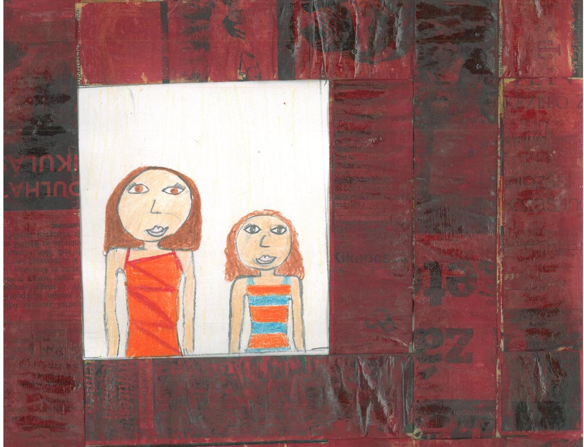 gyerek rajz, iskolaérettség