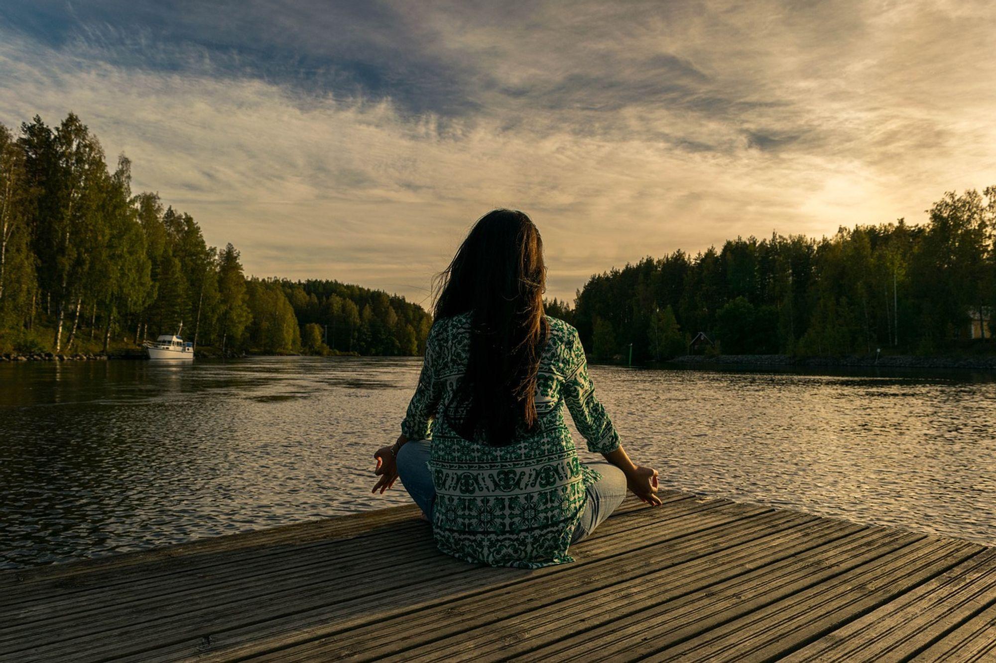 meditáció, nyugalom, stresszhelyzet
