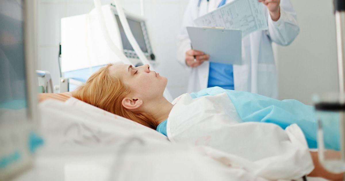 Erős asszony maga, kibírja!  <br><p class='alcim'>– egy terhesség alatti műtét története</p>