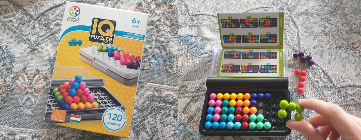 játékok, logikai játék, társasjáték, IQ puzzler pro