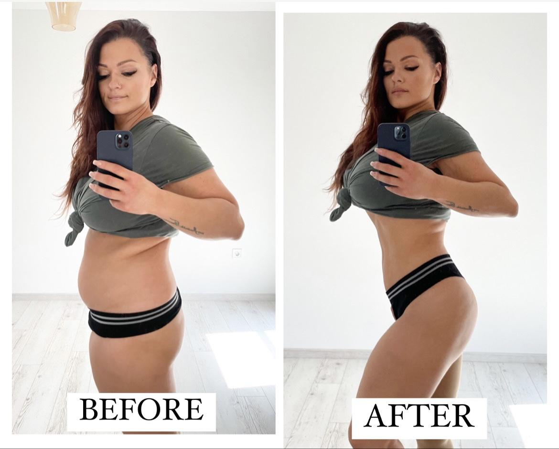 Lengyel Dorottya, fitness világbajnok, anya, test, változás