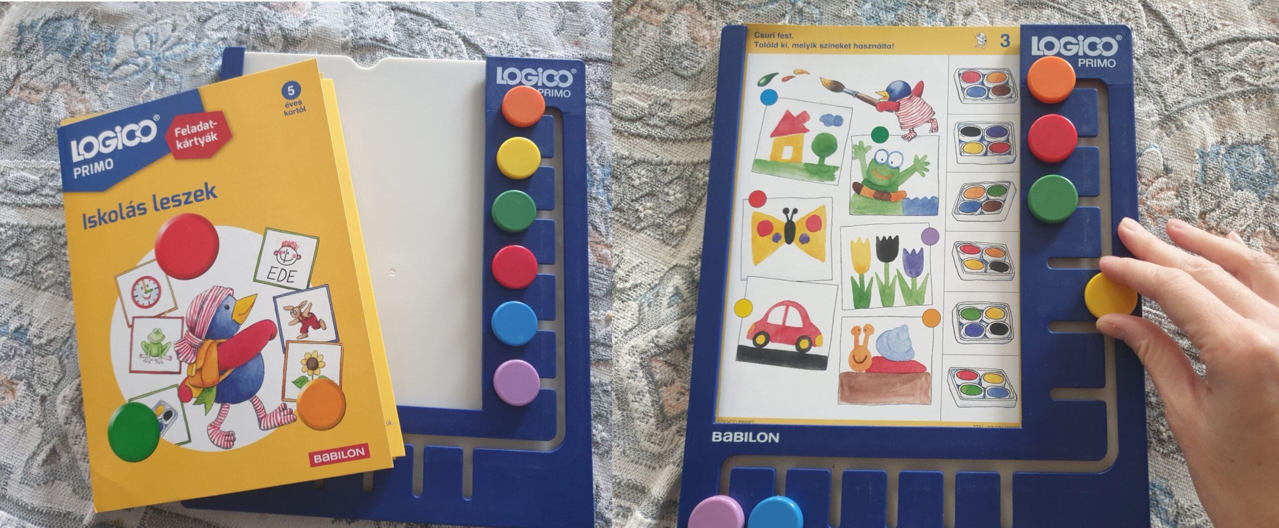 játékok, logikai játék, társasjáték, Logico primo