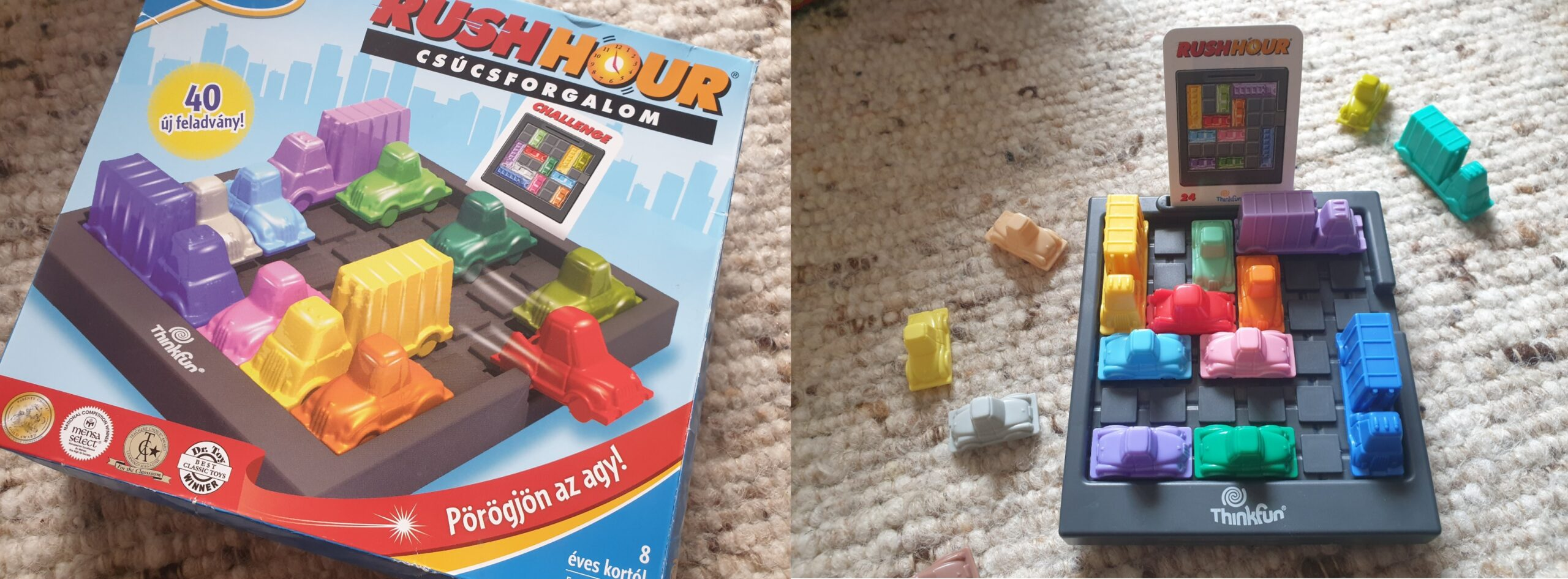 játékok, logikai játék, társasjáték, Rushhour
