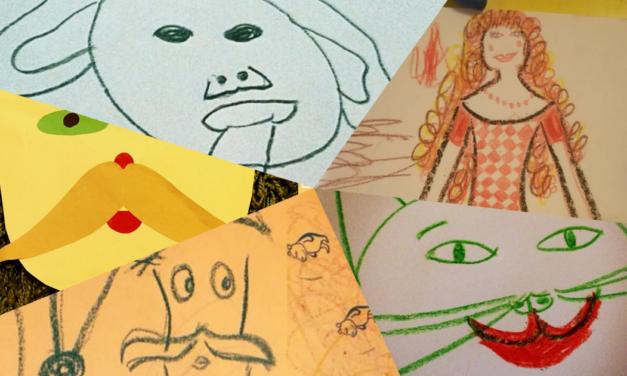 Anya, ne rajzolj!  <br><p class='alcim'> – egy tehetségtelen szülő, aki nem tud, de nagyon akar</p>