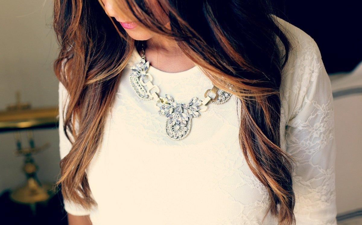 nyaklánc, kiegészítő, stílus, divat, ékszerek