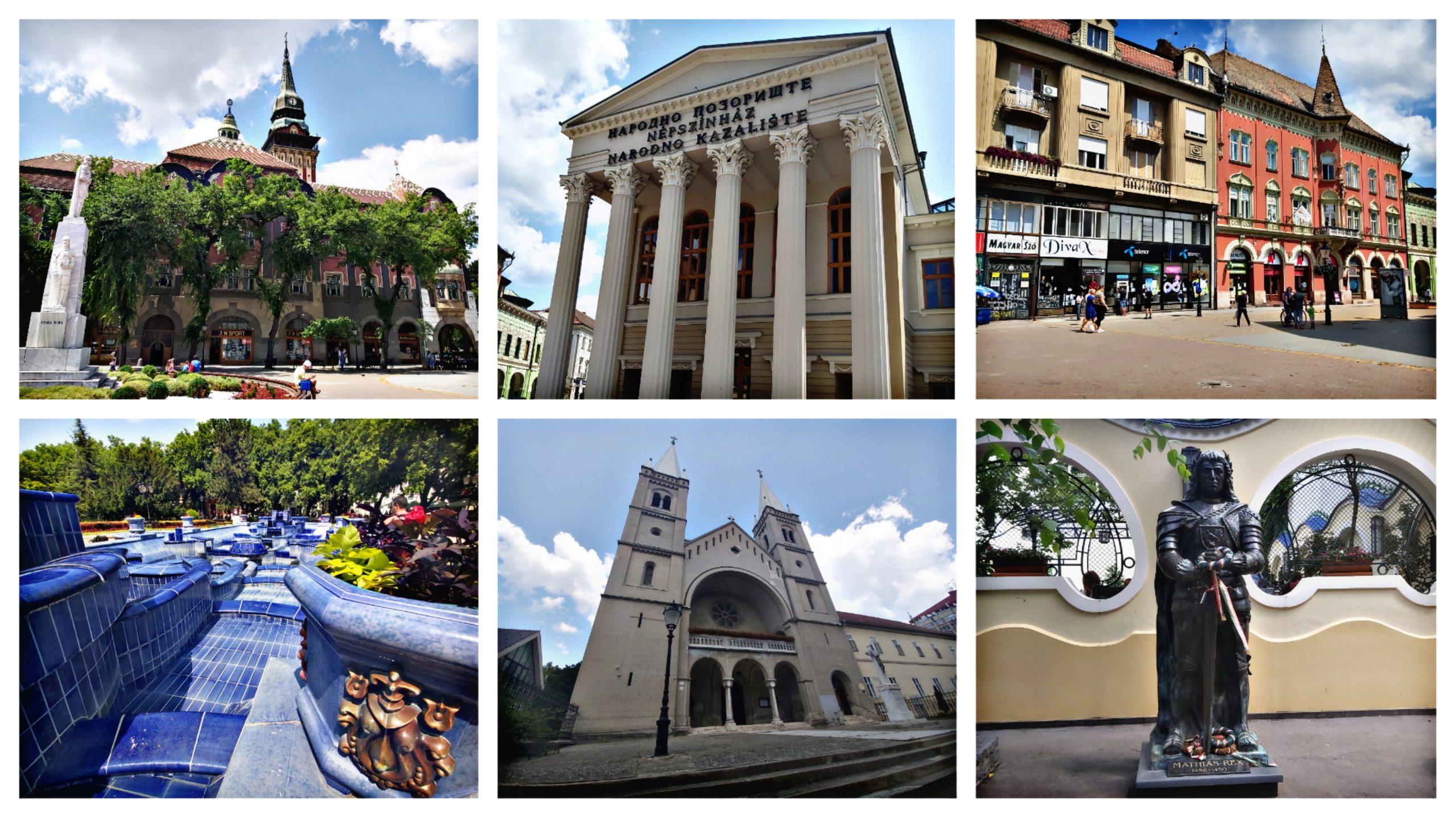 Szeged, Alföld, Makó, Szabadka, nyaralás