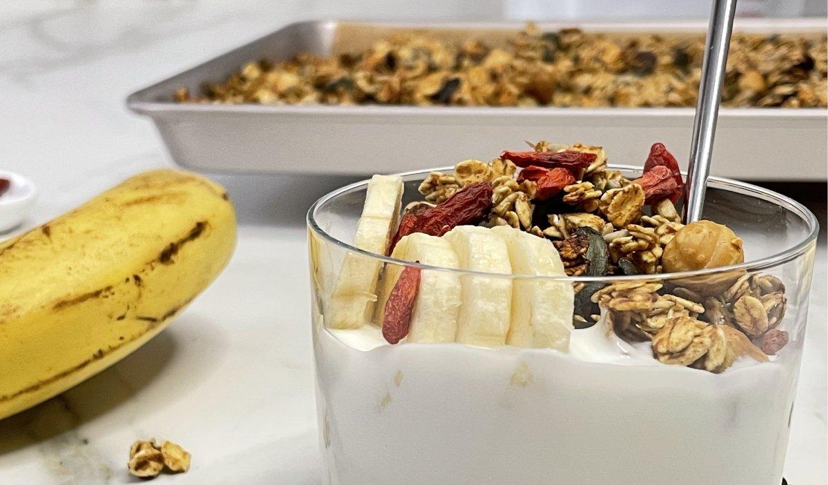 reggeli, étrend, örökbe fogadok egy ovit, hátrányos helyzetű gyerekek, granola, Porkoláb Eszter