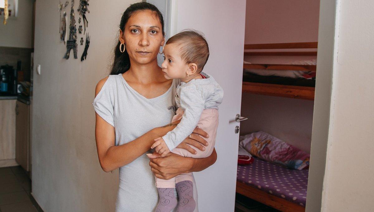 családok átmeneti otthona, Hajdúböszörmény, mélyszegénység, nehéz körülmények, örökbe fogadok egy ovit